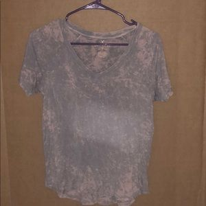 Pink and grey tie dye shirt!